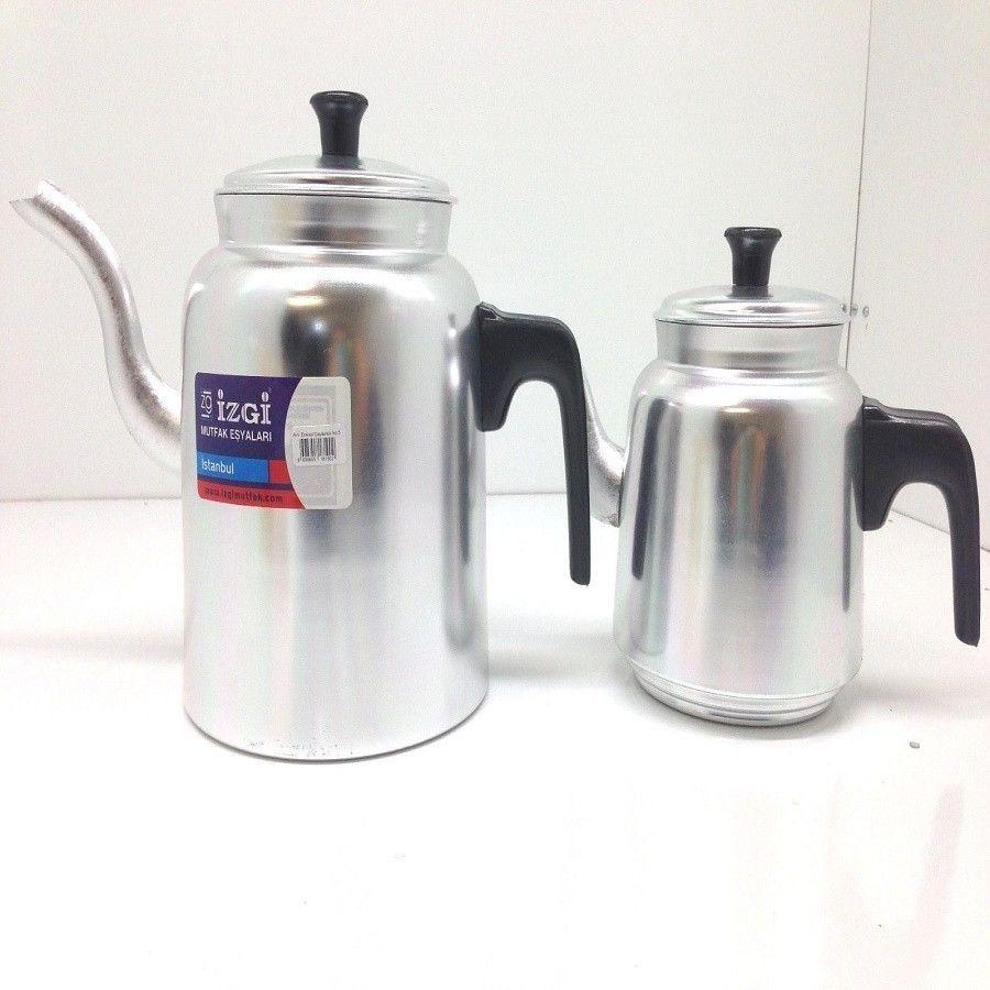 large size turkish teapot kettle set large size