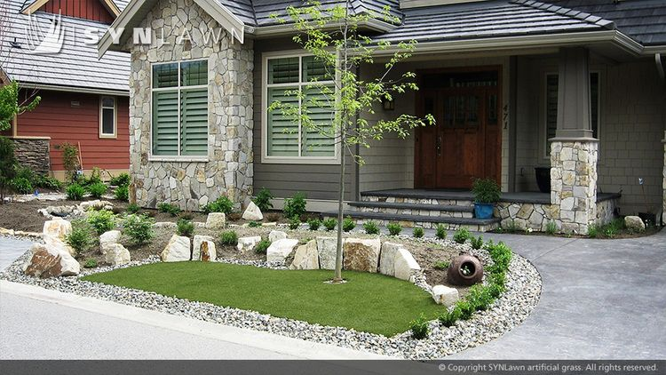 Lovely Ideas for Front Yard Landscaping without Grass