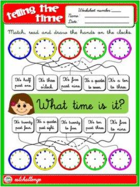 telling the time worksheet english step by step 4th graders pinterest worksheets. Black Bedroom Furniture Sets. Home Design Ideas