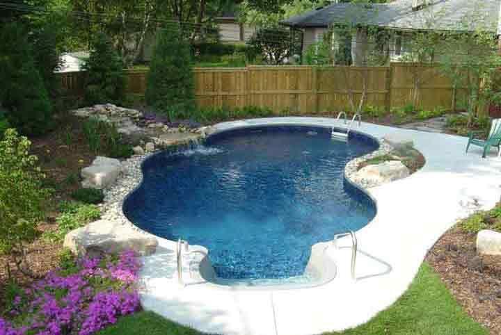 Swimming Pool Sale Ottawa Small Backyard Design Small Pool Design Small Backyard Pools