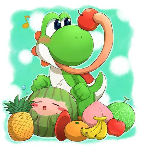 Kirby and Yoshi | Proud to be nerdy | Pinterest | Yoshi ...