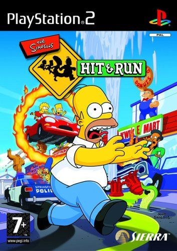 The Simpsons Hit Run Ps2 Amazon Co Uk Pc Video Games