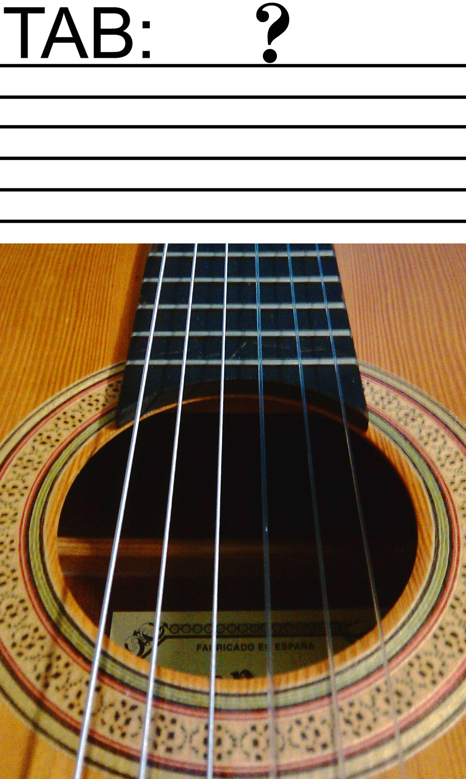 How to read guitar tablature tabs guitar guitar