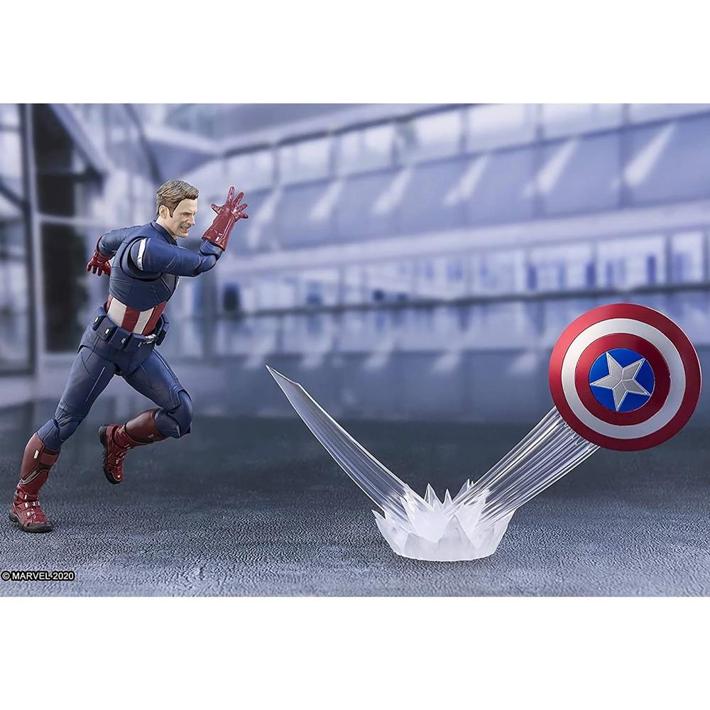 Tamashii Nations S.H. Figuarts: Avengers Endgame - Captain America (Cap vs Cap)