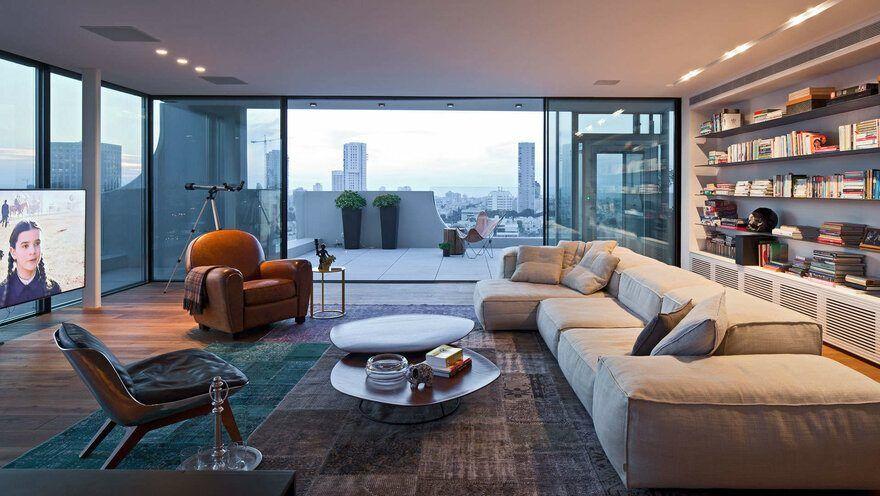 Tel Aviv Duplex Apartment Blatman Cohen Architecture & Design