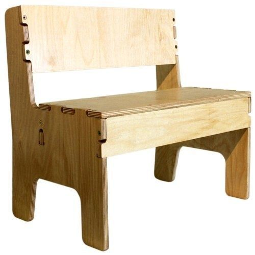Awe Inspiring Anatex Kid Child Toddler Playroom Seat Light Wooden Bench Gmtry Best Dining Table And Chair Ideas Images Gmtryco