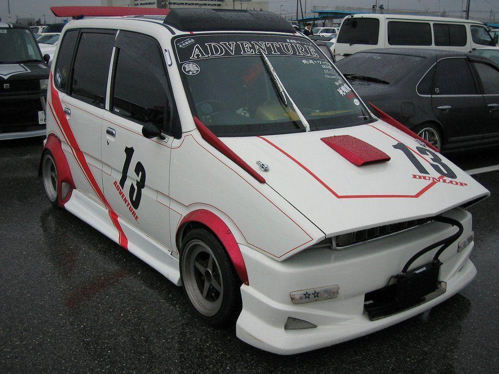 Daihatsu Move Bosozoku Daihatsu Kei Car Car Culture