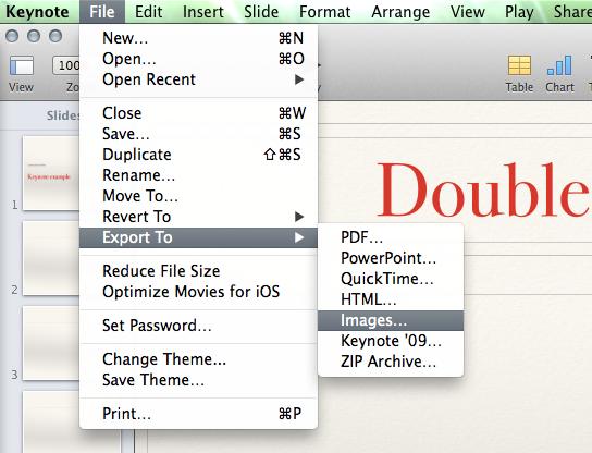 How to convert a keynote. Key to powerpoint presentation with.