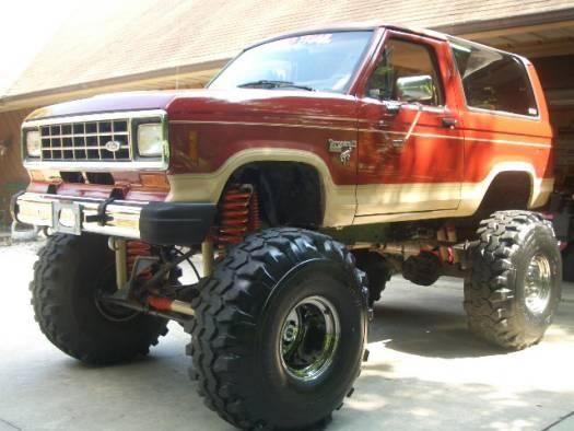 Lifted Bronco Ii Automoviles Camionetas Autos