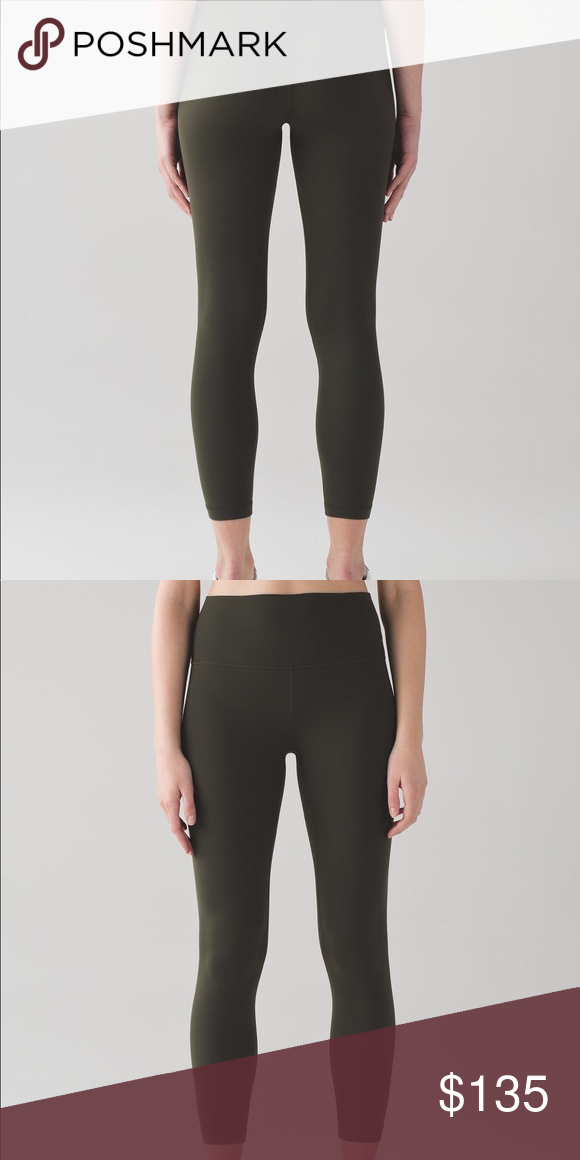 922af10cbac9f1 Lululemon Align Pant II Dark Olive Lululemon Align Pant II ✅Dark Olive ✅NEW  WITH TAG ✅SIZE 4 ‼️NO TRADES ‼️PRICE IS FIRM lululemon athletica Pants ...