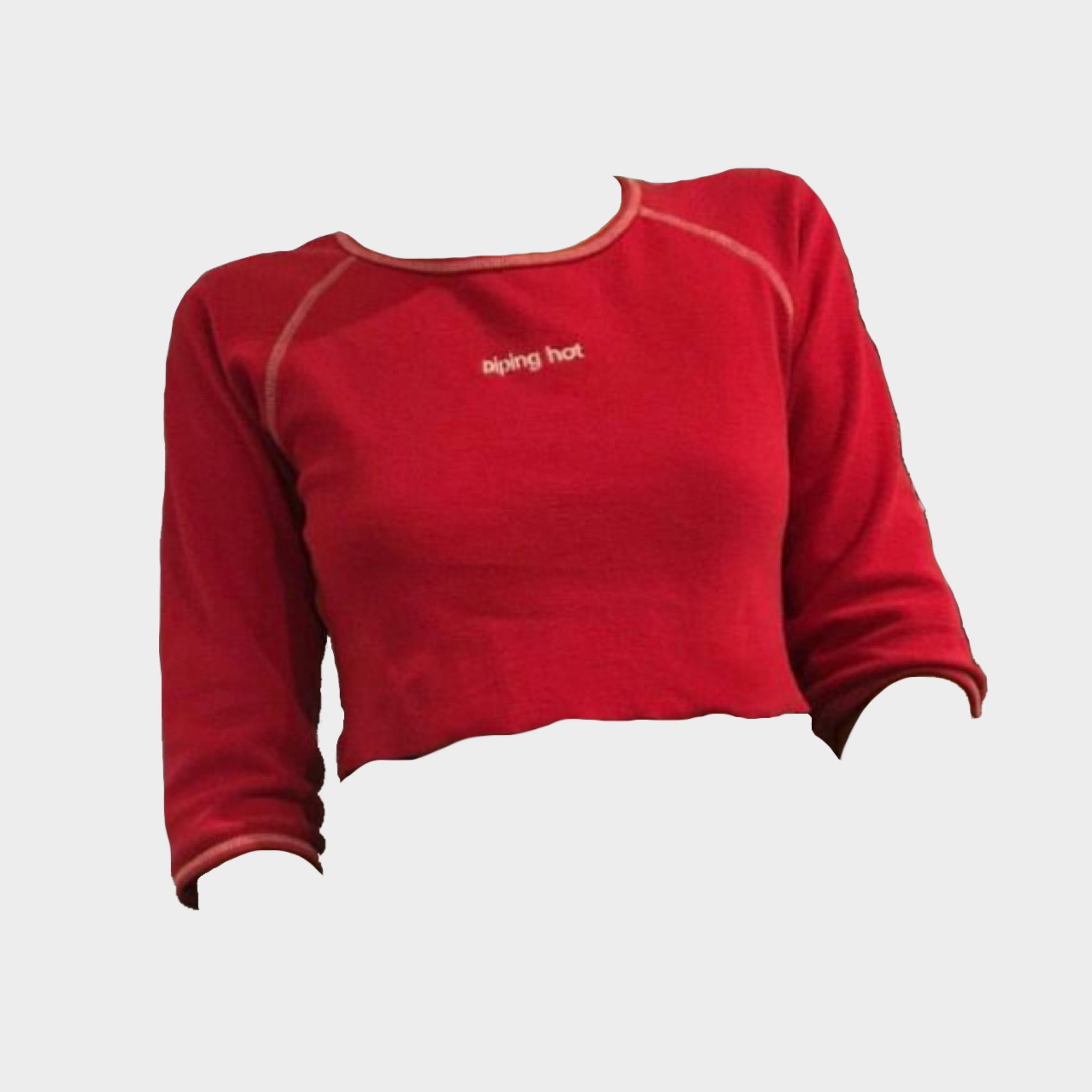 Red Long Sleeve Shirt Png For Mood Boards Polyvore Fillers Red Long Sleeve Shirt Red Outfit Long Sleeve Shirts