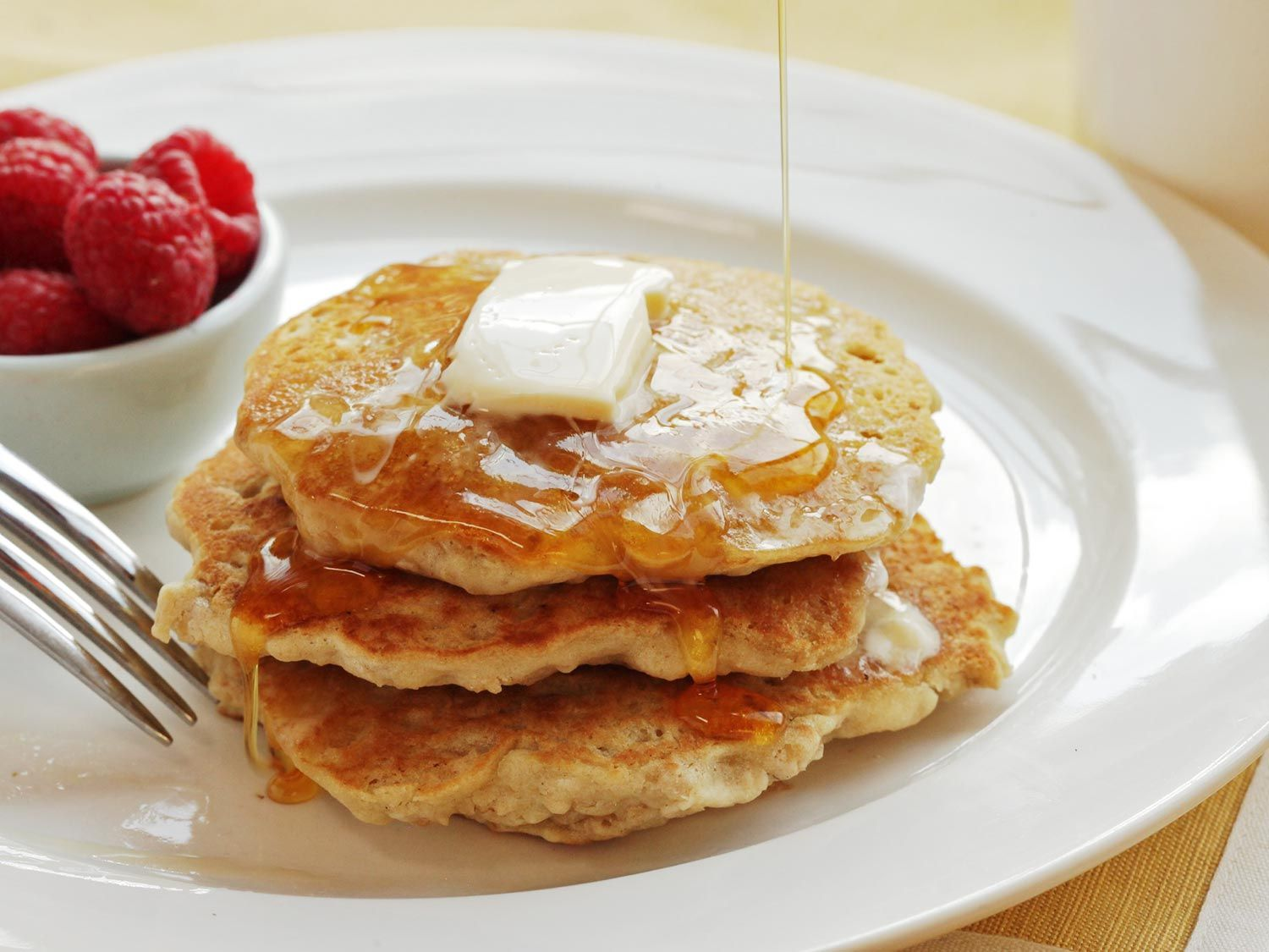 Check out Fluffy Vegan Oatmeal Pancakes Recipe (With Aquafaba ...