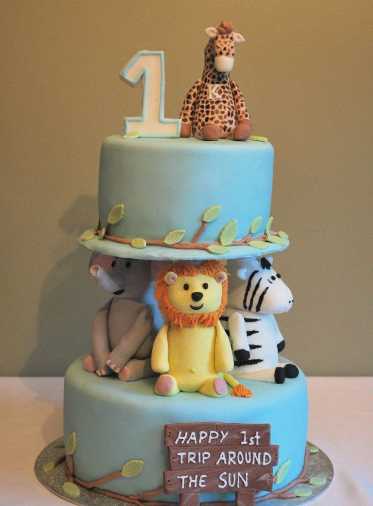 15 Baby Boy First Birthday Cake Ideas Baby Pinterest 1st