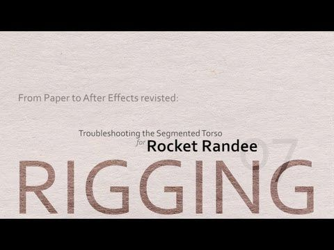 e.d.Films Tutorial: From Paper to After Effects: Revisited - Lesson 07 - YouTube