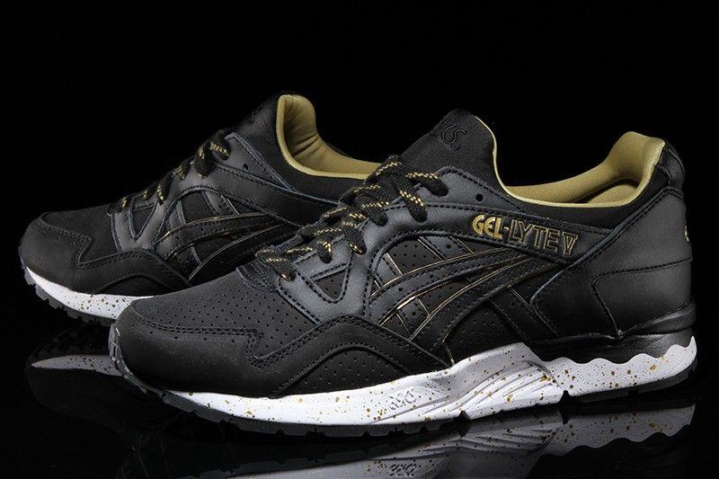 competitive price a7cb9 5dc4f Asics Gel-Lyte V - Black Black Gold