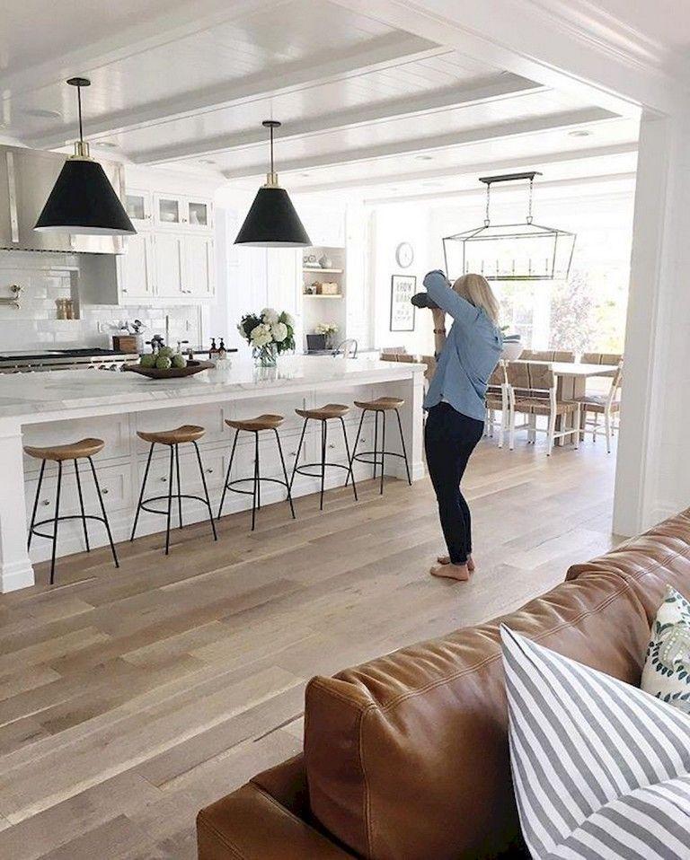 110+ Lovely White Kitchen Cabinet Design Ideas