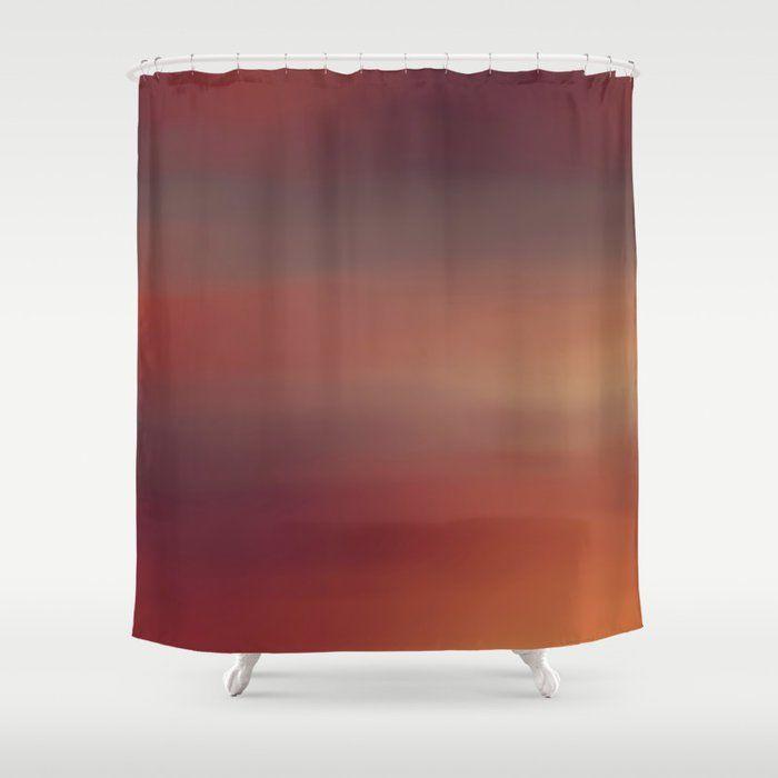 Rust Shower Curtain Di 2020