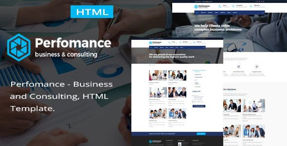 Performance consulting business html template template performance consulting business html template accmission Images