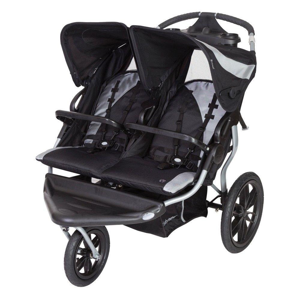 Baby Trend Navigator Lite Double Jogger Stroller Europa