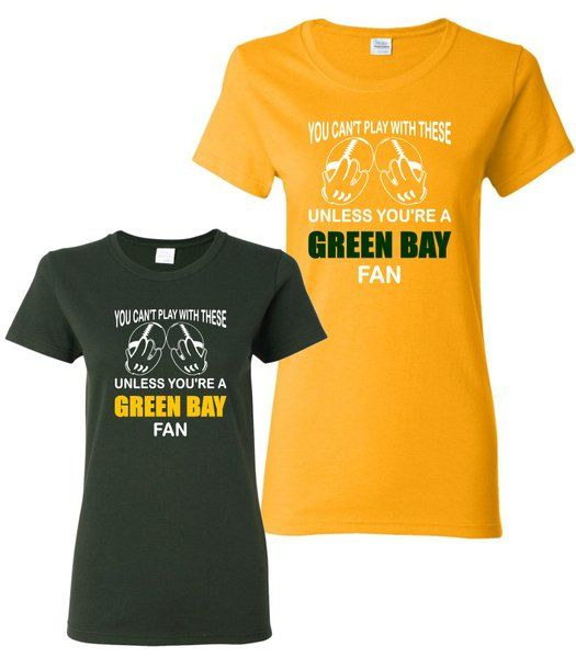 You Can T Play Boxing Shirt: T-shirts Green Bay You Can't Play With Theses