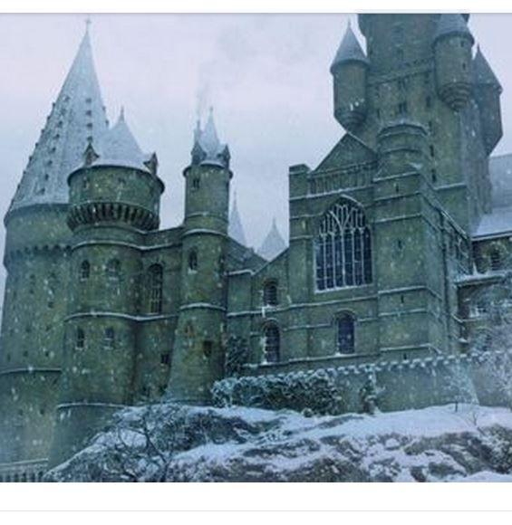 hogwarts, winter