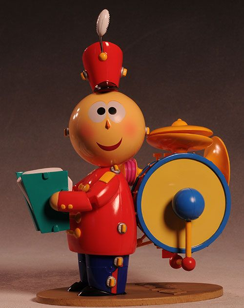 Pixar's Tin Toy figure | A boy's interests | Tin toys
