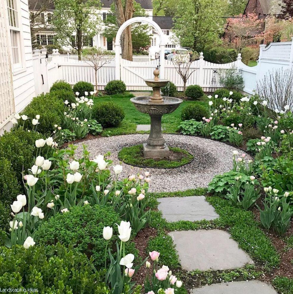 Backyard Landscaping Ideas From Dublin And Cork Backyard Designers In 2020 Charleston Gardens Small Garden Design Garden Fountains