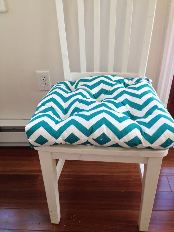 Set Of 6 Tufted Chair Pads Seat Cushions Bar By Kirtamdesigns