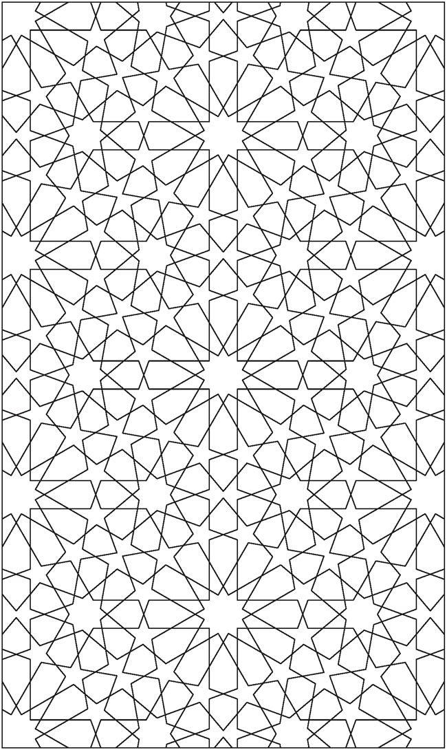 Diseño geométrico de la Alhambra | Patrones | Pinterest | Colores ...