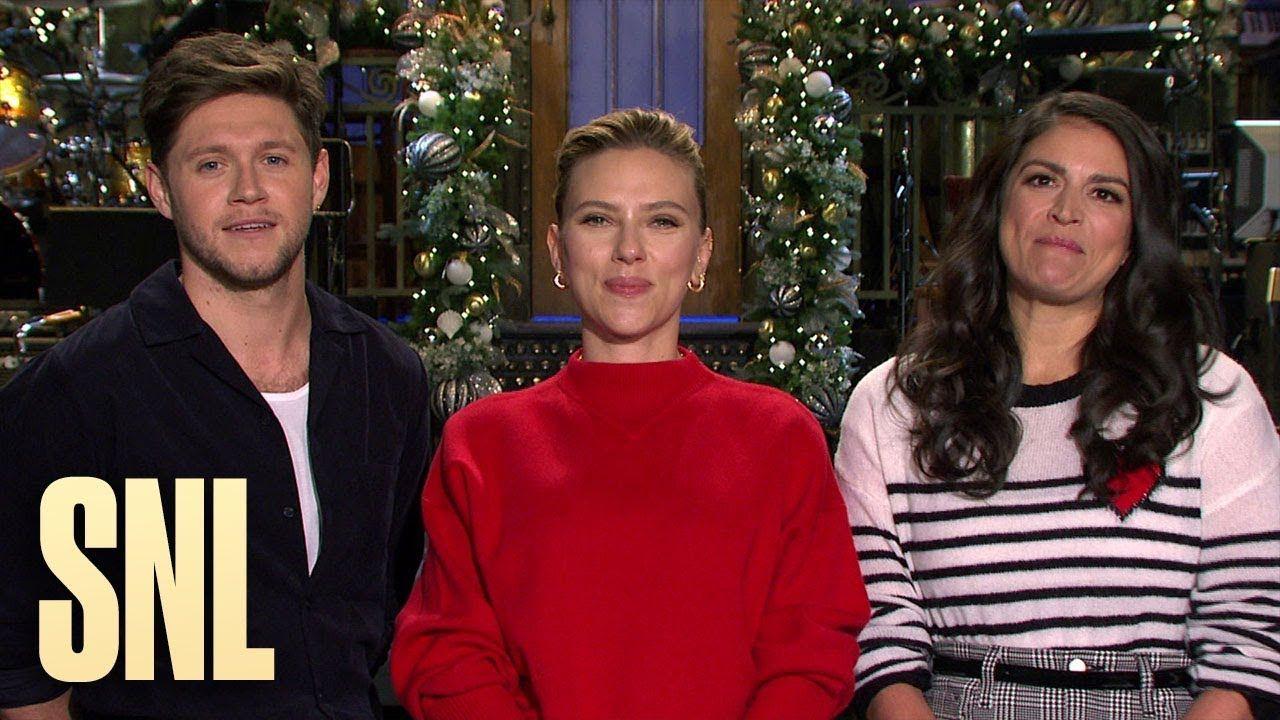 Scarlett Johansson and Niall Horan Make Cecily Strong's