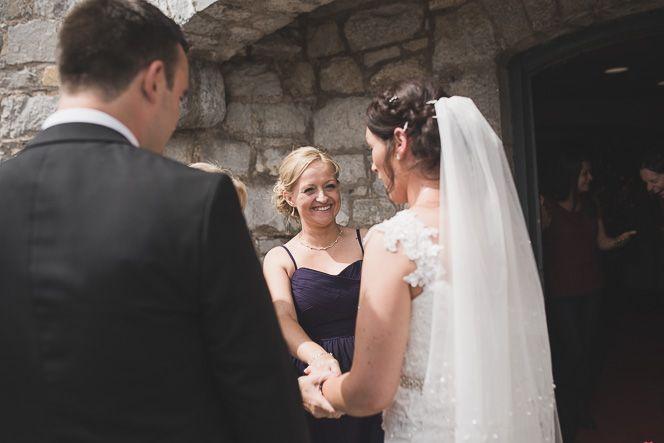 liz and shane natural relaxed irish wedding in alternative blackrock castle cork by documentary wedding photographer 112