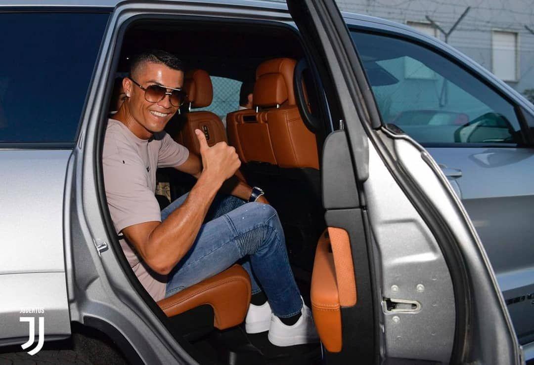 Cristiano Ronaldo Is In Turin Moments Ago The Portugese