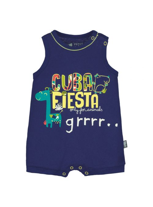 5f33af900af83 Barboteuse débardeur bébé garçon Cuba Fiesta