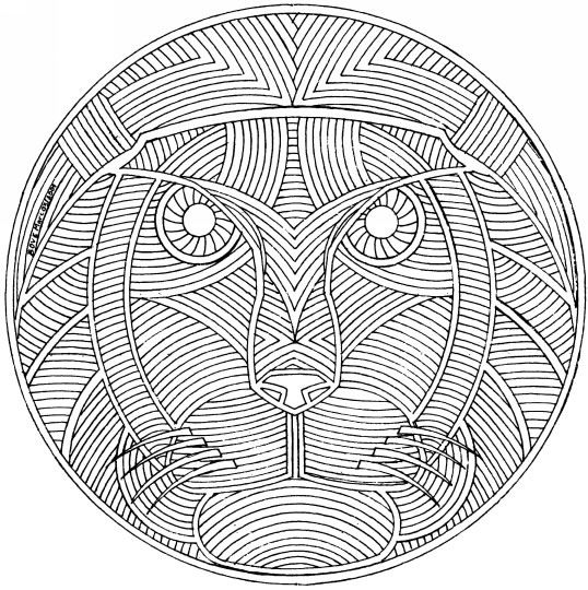 tiger mandala coloring pages tiger mandala coloring pages - Coloring Pages Tigers Print