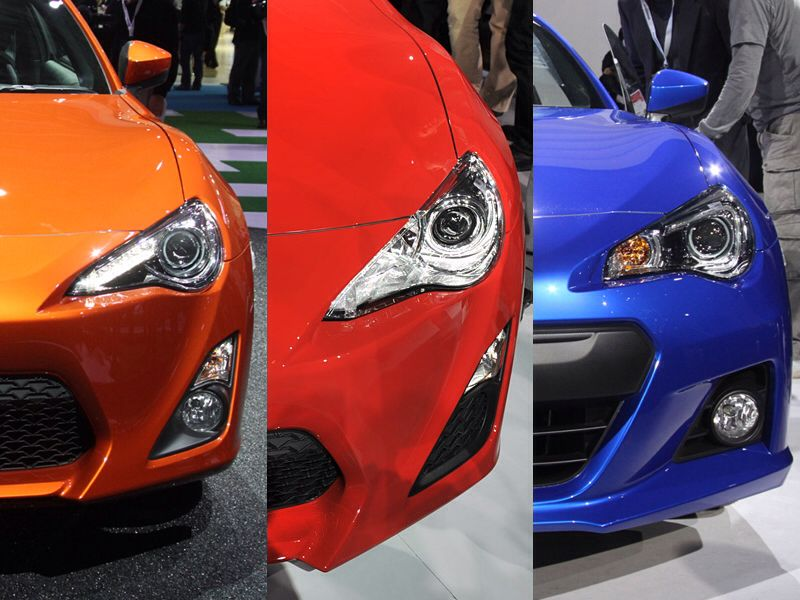 Subaru Brz Vs Toyota 86 >> Toyota 86 Gt Vs Scion Fr S Vs Subaru Brz Even Though Toyota