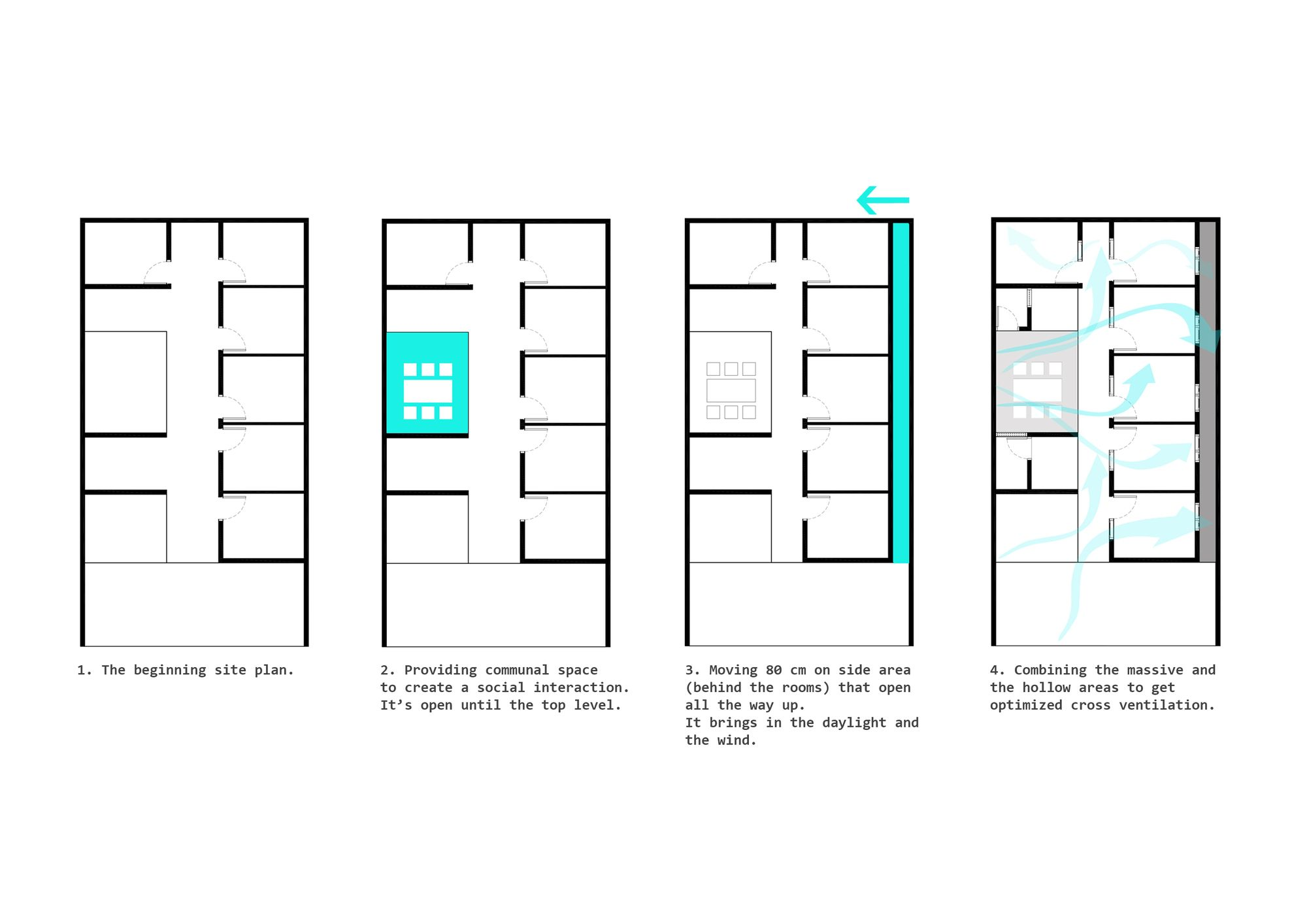 Gallery Of Bioclimatic And Biophilic Boarding House Andyrahman Architect 23 Boarding House Hostels Design Architect