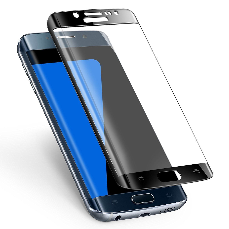 Galaxy S7 Edge Screen Protector Alclap S7 Edge Tempered Glass Full