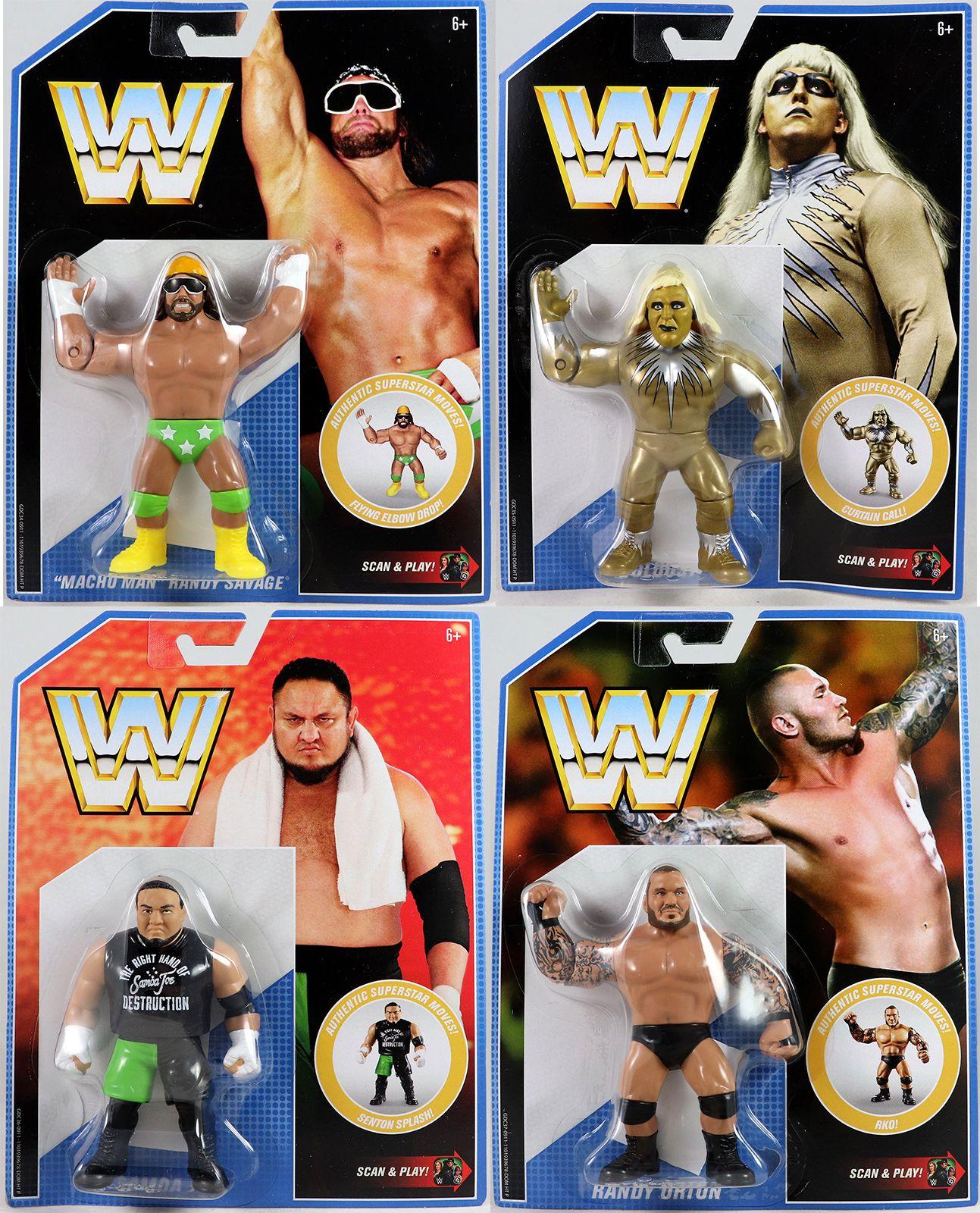WWF WWE mattel Goldberg head Wrestling Figures Wwf hasbro mattel
