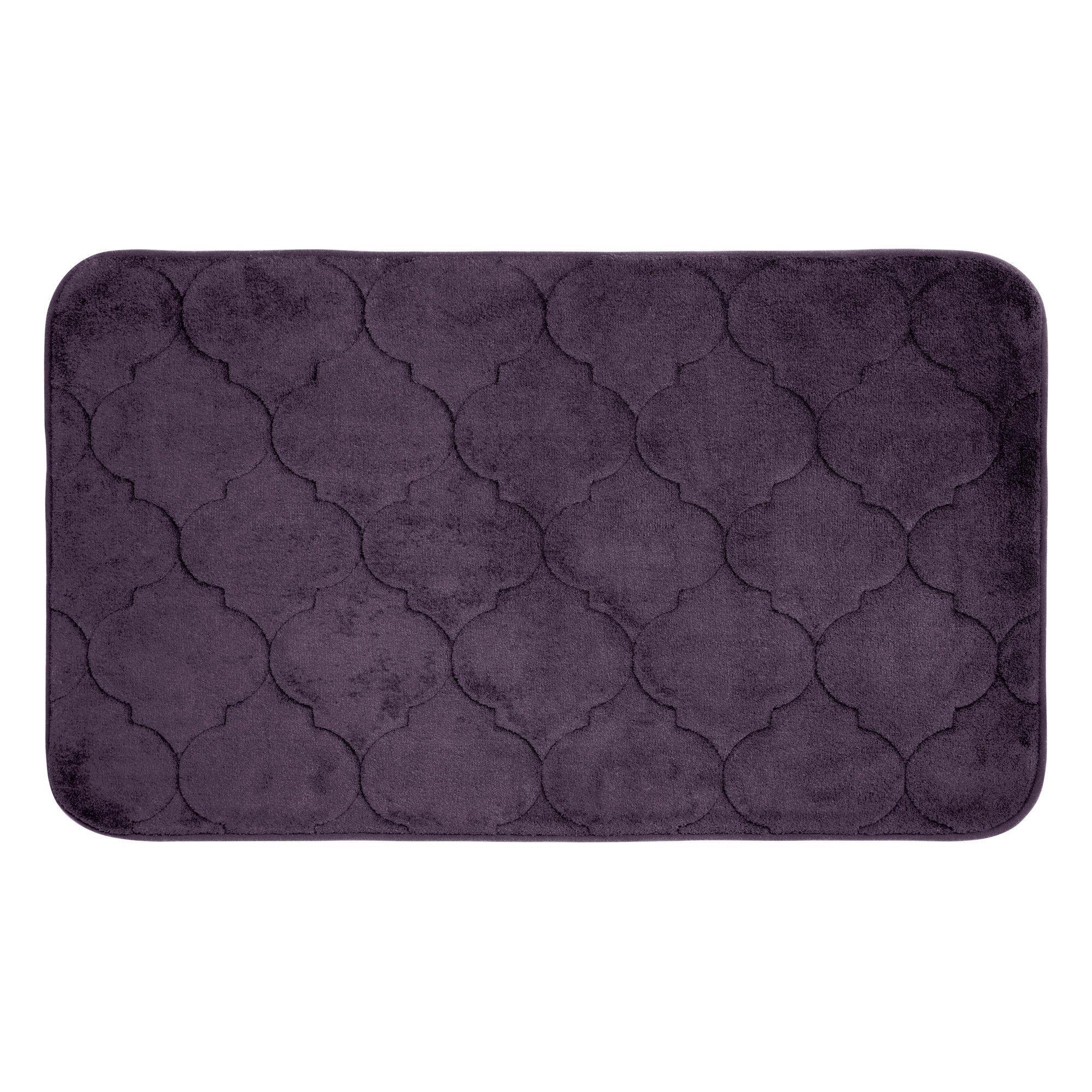 Faymore Micro Plush Memory Foam Bath Mat Memory Foam Bath Mats