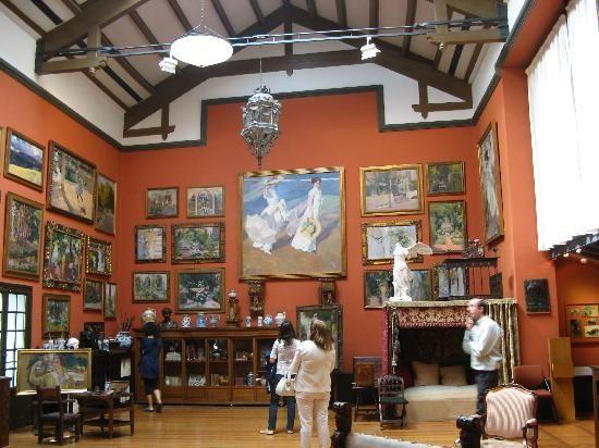 Sorolla museum residence in madrid dreaming spain pinterest madrid museums and spain - Casa de sorolla en madrid ...
