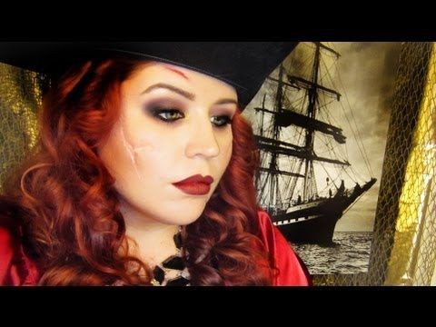 maquillage pirate femme