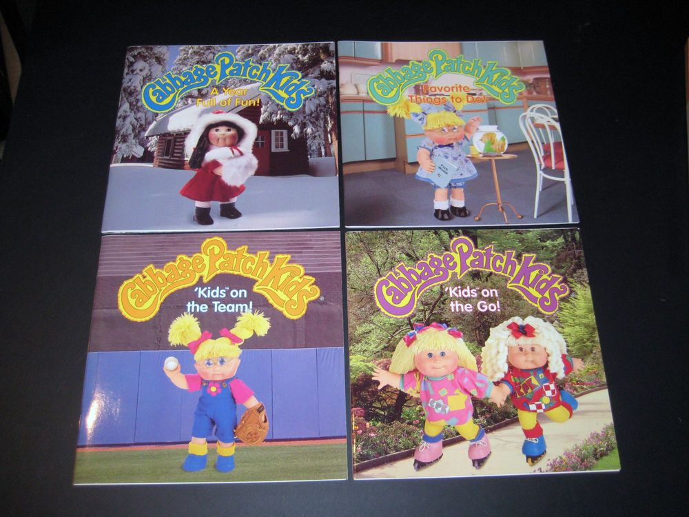 1997 Cabbage Patch Kids On The Go A Year Full Of Fun On The Team Things To Do Cabbage Patch Kids Kids Cabbage Patch