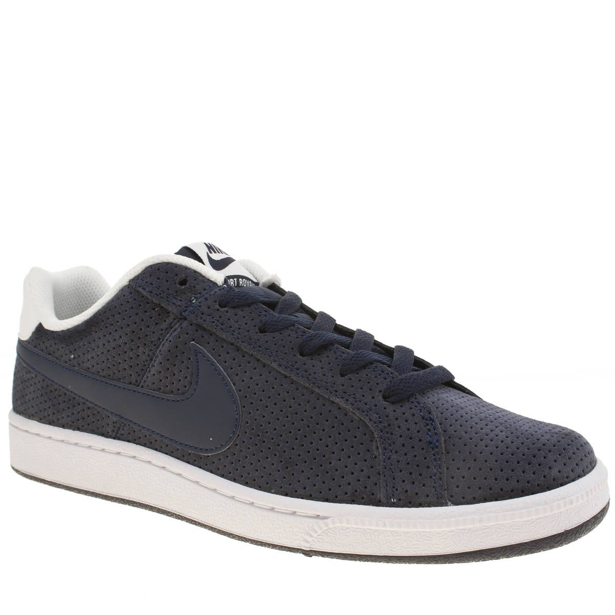 competitive price 820a8 1a957 01c76 82b86  greece nike internationalist 828041 004 mens navy white nike  court royale premium trainers 9abba f8e50