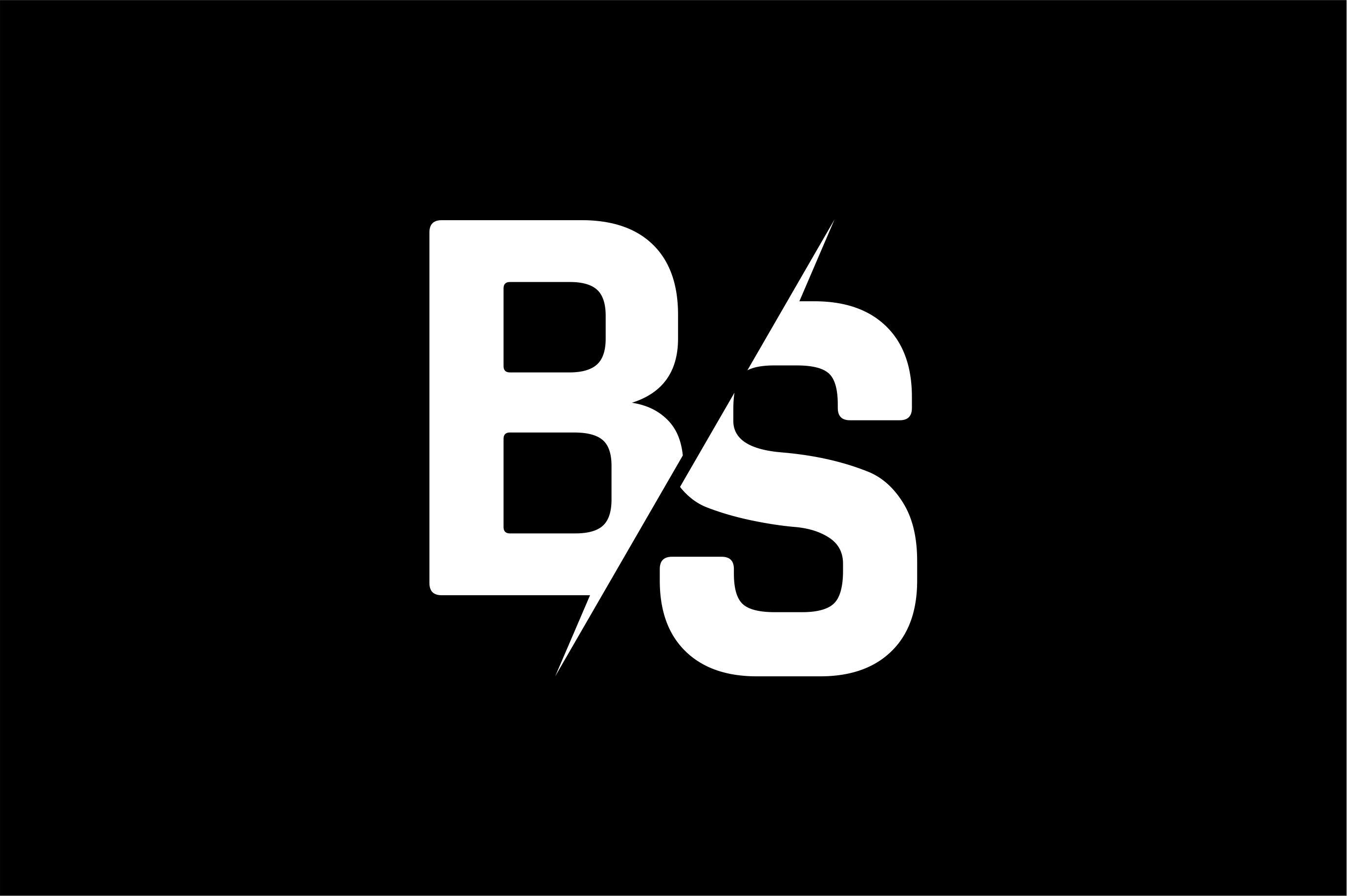 Monogram Bs Logo Graphic By Greenlines Studios Creative Fabrica