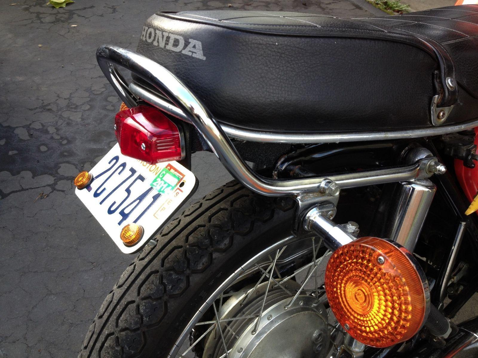 rear fender eliminator for honda cb750 (thru 1974) and cb550 (thru 1978) |  ebay