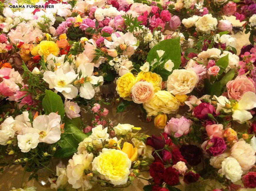 Lovely arrangements by floral artist, Louesa Roebuck.