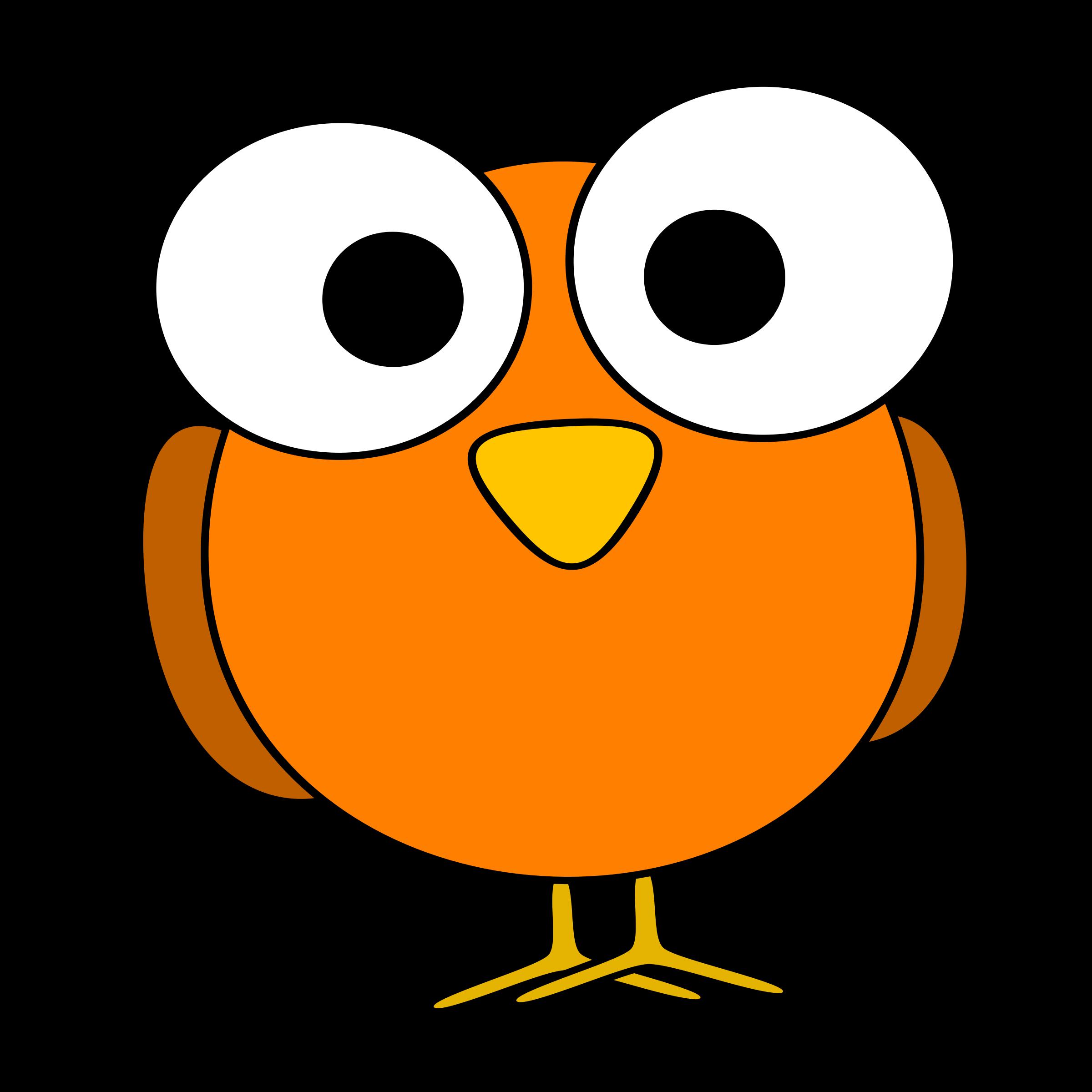 Funny Orange Bird T Shirts Funny T Shirts Online Cartoon Birds Cartoon Eyes Bird Illustration
