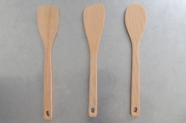 Kitchen Tools by Jasper Morrison / ジャスパー・モリソンの木製のキッチンツールセット
