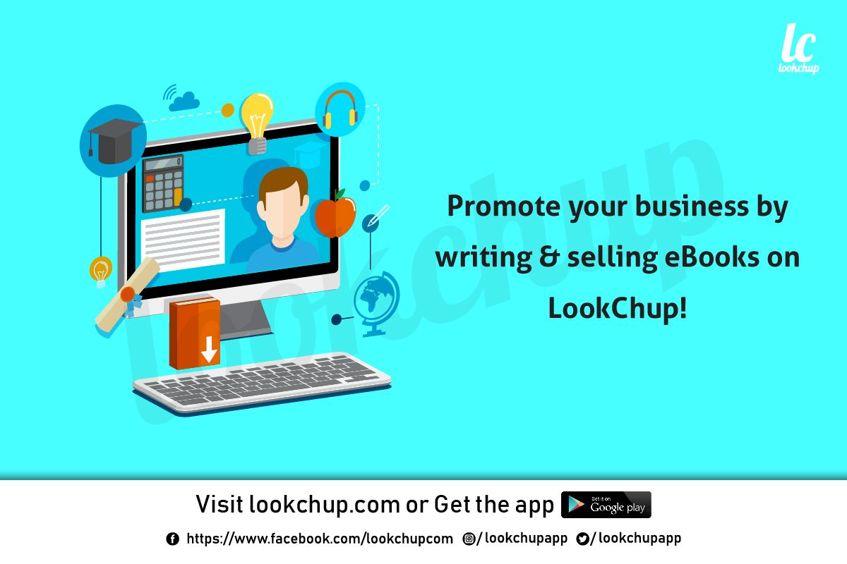 How to Write an eBook? by LookChup Promote your business