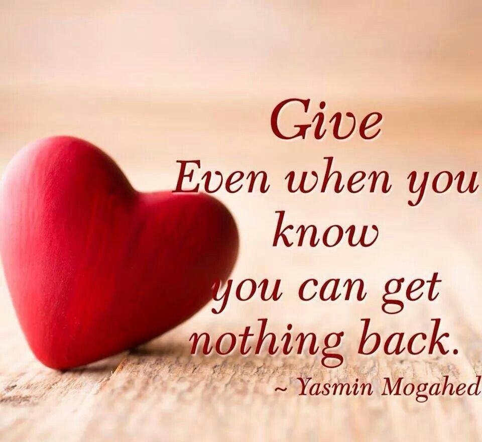 Love Heart Quotes A Giving Heart Is A Loving Heart  Love Give Help Trust Too